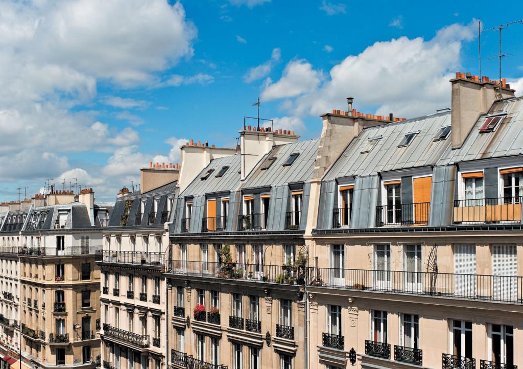 Дома в Париже