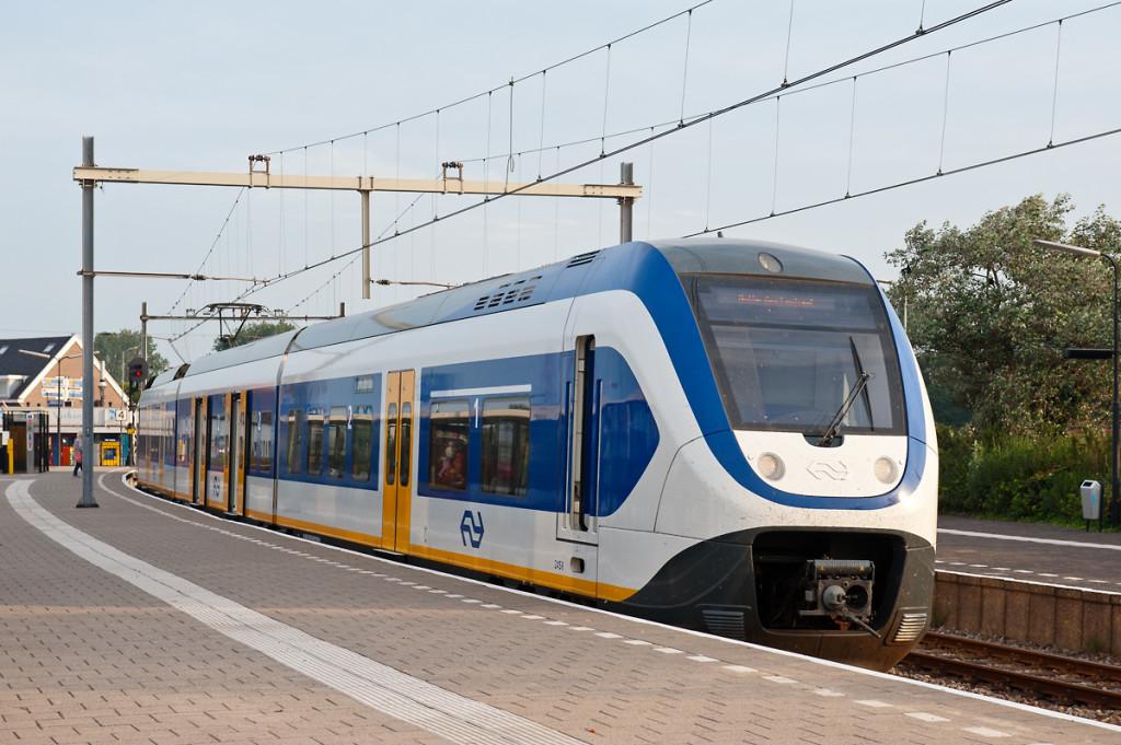Поезда в Голландии