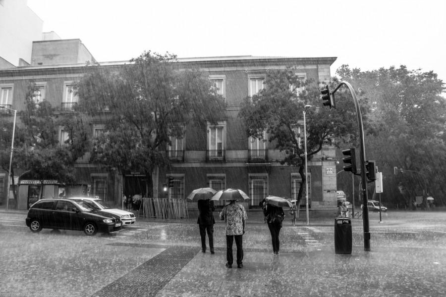 Перекресток в Мадриде