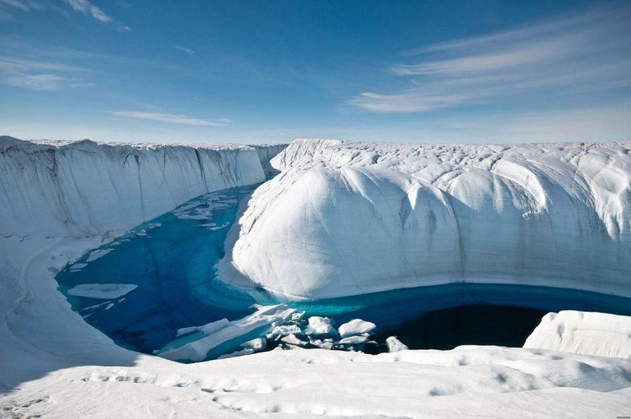 Так выглядит ледник