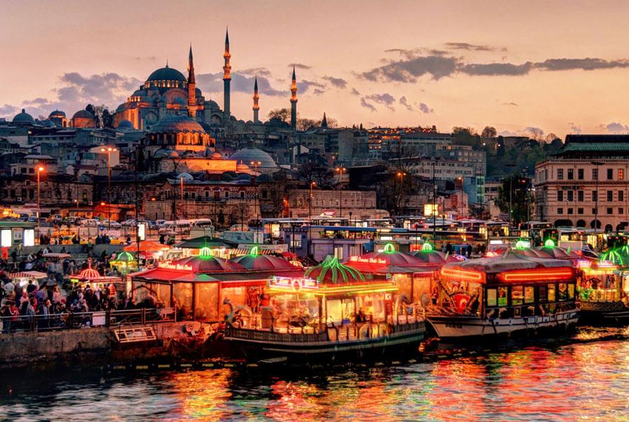 Турция-Стамбул-Достопримечательности