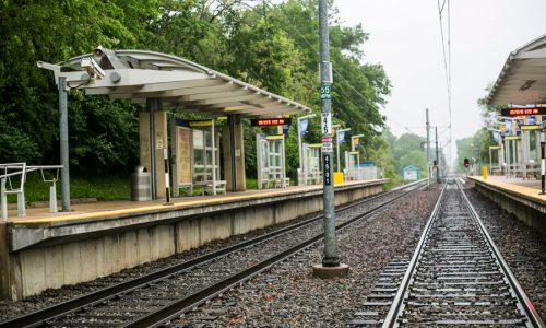 Поезд в Сент-Луисе