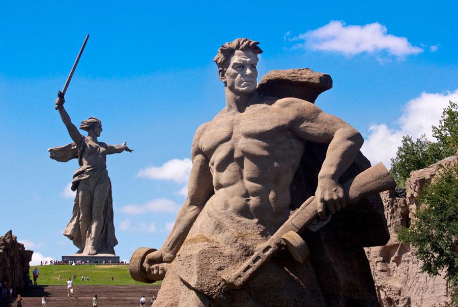 Мамаев-Курган-Волгоград