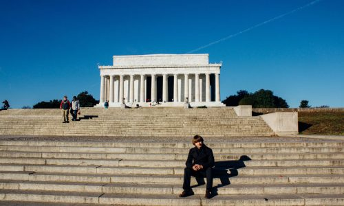 Роскин Михаил в Вашингтоне