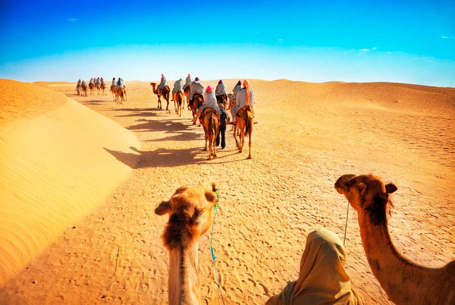 Самостоятельное путешествие по Тунису