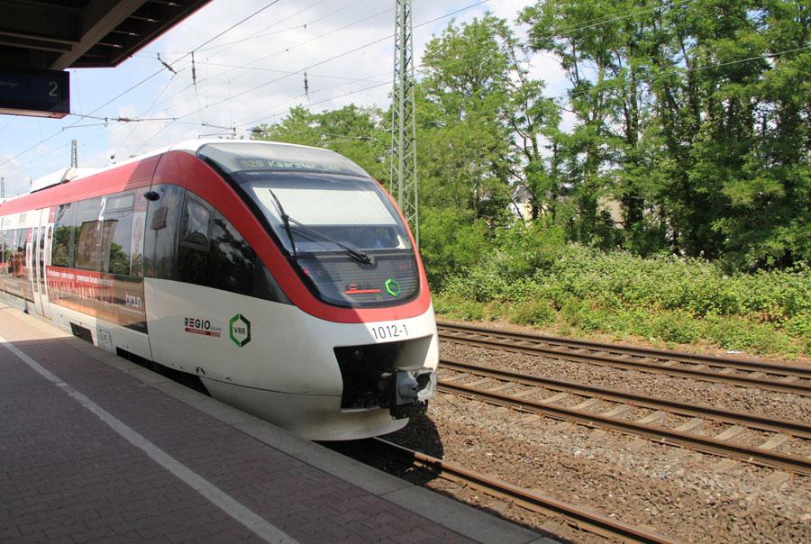 Городской транспорт Дюссельдорфа