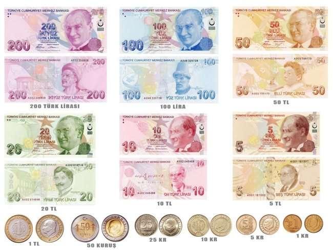 С какой валютой лучше ехать в Турцию