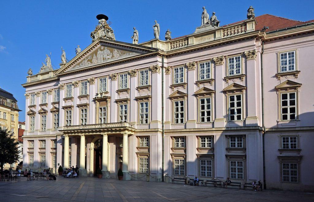 Дворец в столице Словакии