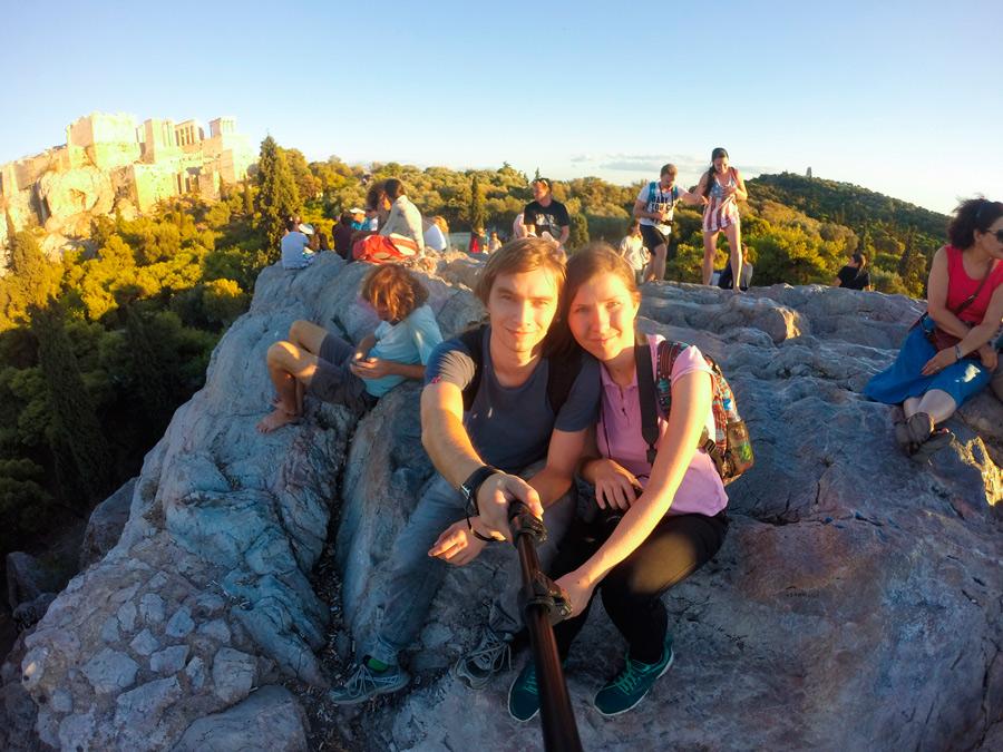 Закат на холме Ареопаг