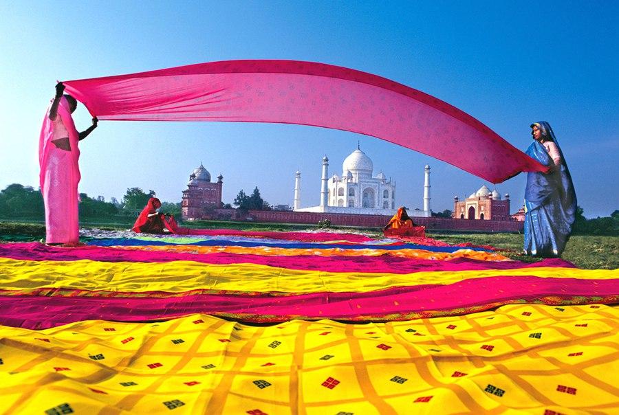 Ткани в Индии