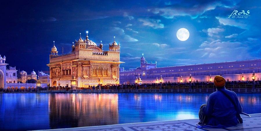 Картина как подарок из Индии