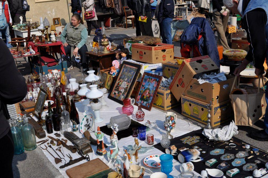 Рынок сувениров в Будапеште