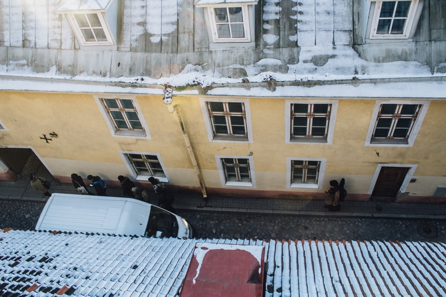 Узкие улочки Таллина