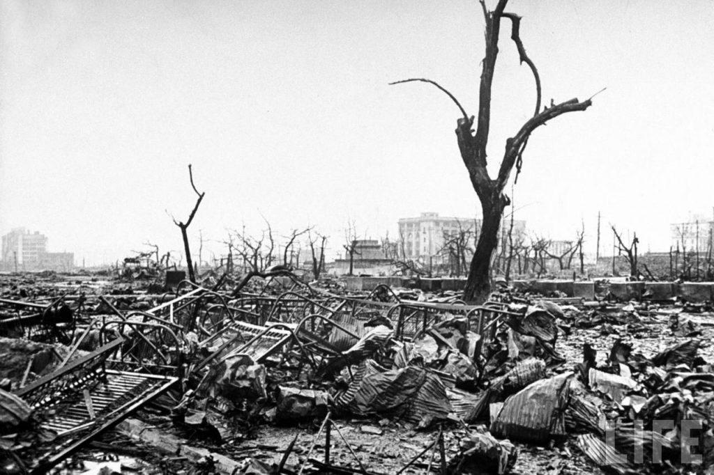 Вид на улицы Хиросимы