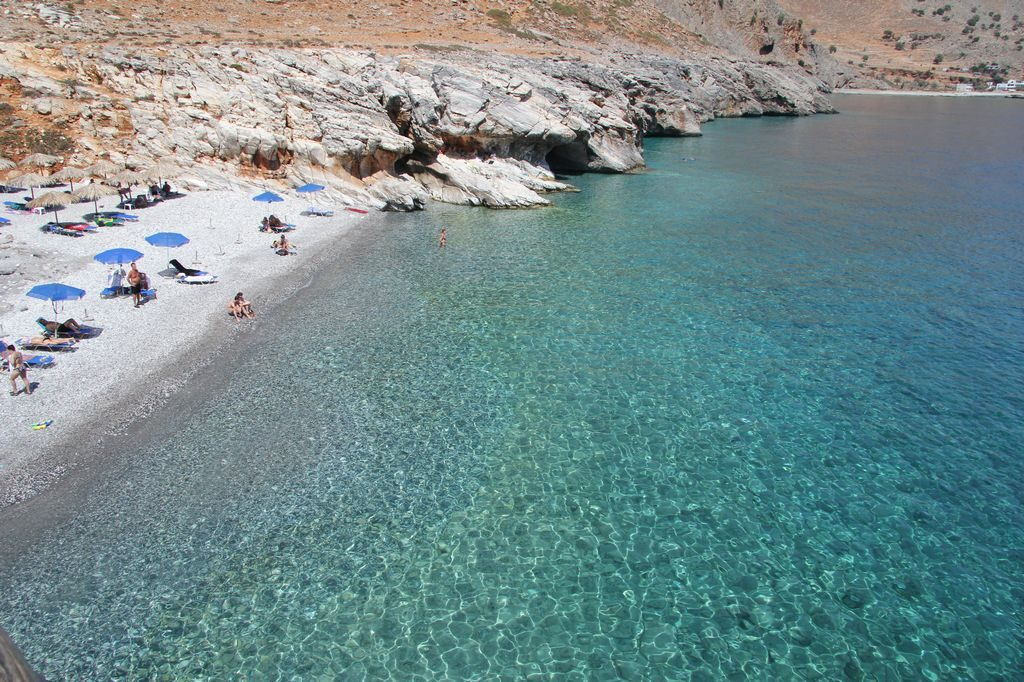 Пляж Мармара на Крите