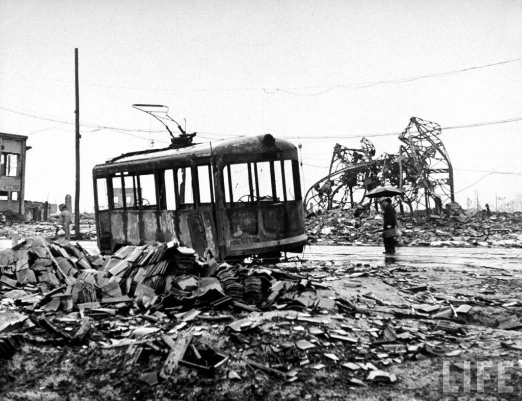 Трамвай в Хиросиме
