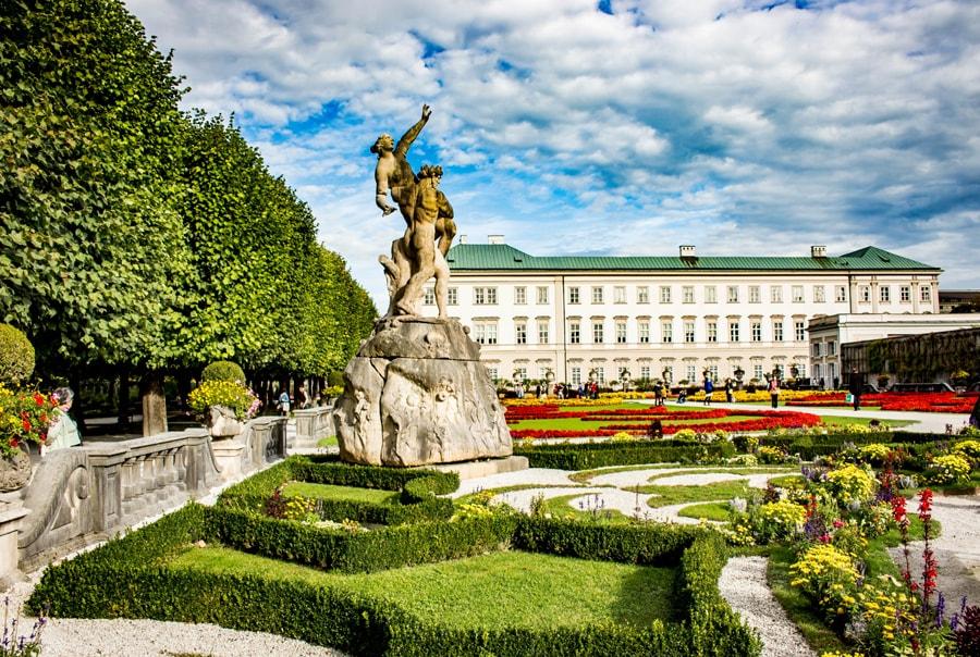 Дворец в Зальцбурге