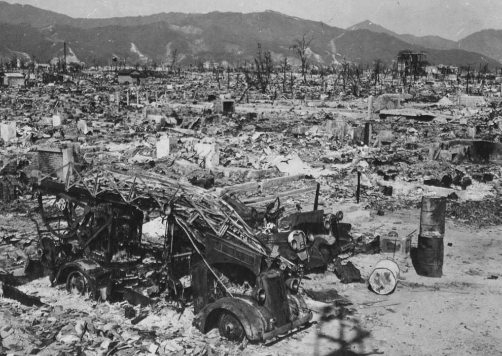 После взрыва в Хиросиме