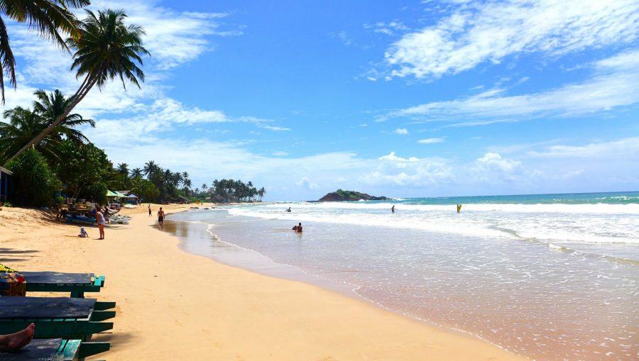 Хороший пляж на Шри-Ланке - Мирисса