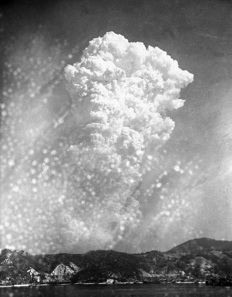 Фото взрыва в Хиросиме