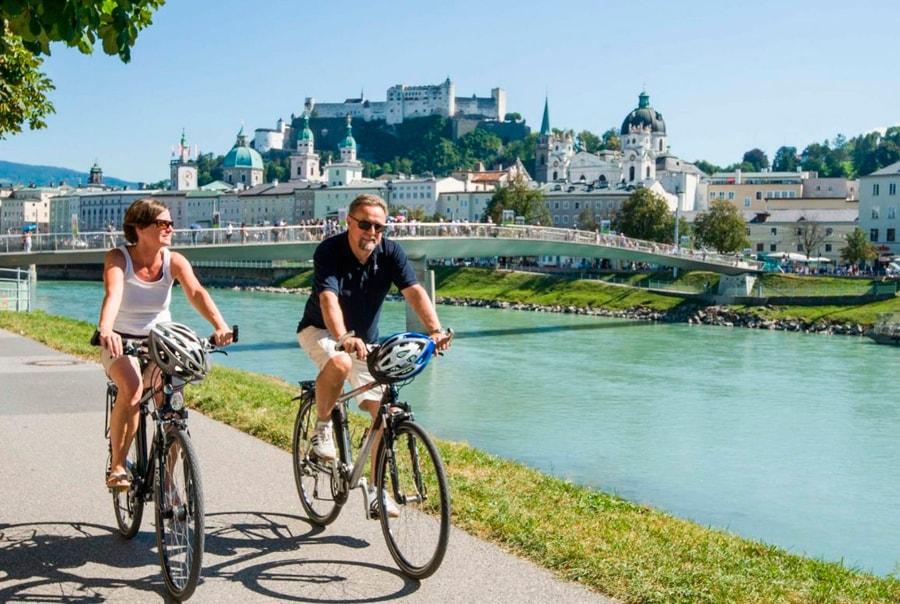 Велосипеды в Зальцбурге