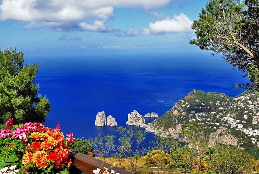 Достопримечательности острова Капри в Италии