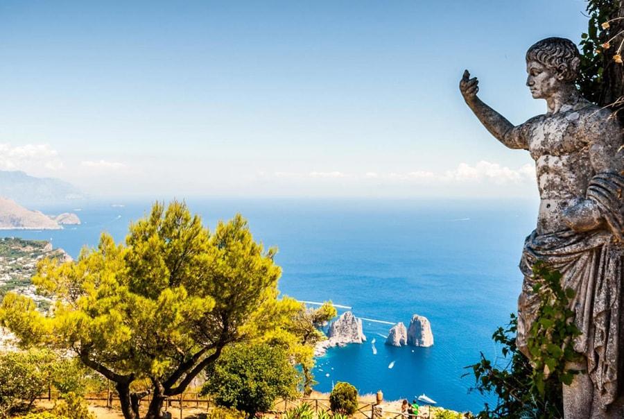 Виды острова Капри