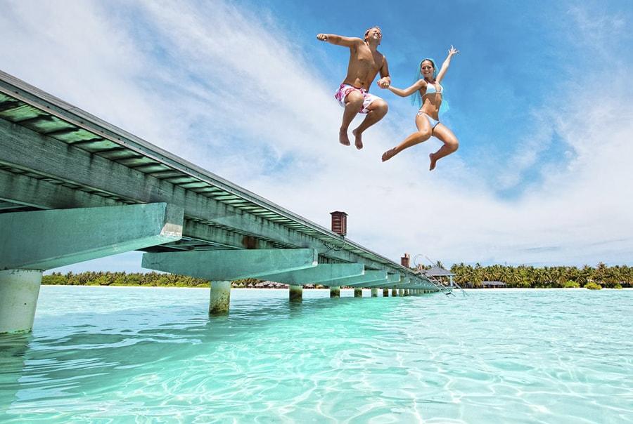 Лучшее время для отдыха на Мальдивах