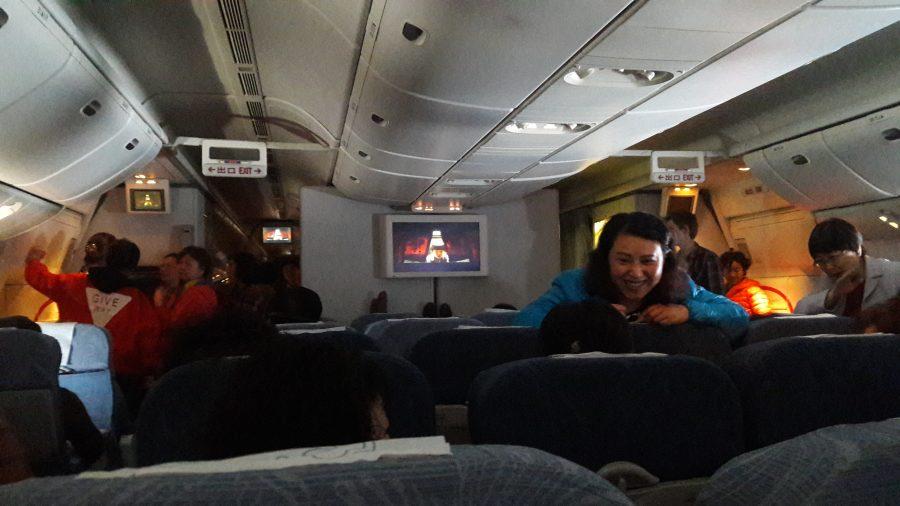 Китайцы в полете