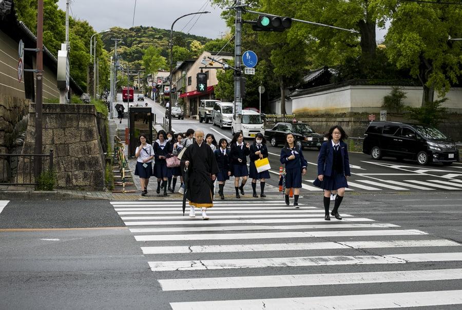 Переход в Киото