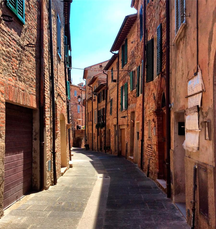 Старинные улочки