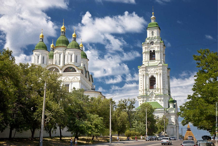 Белый город в Астрахани