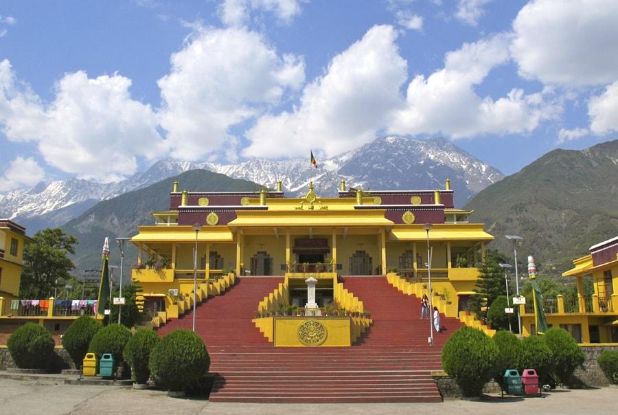 Главный храм Далай Ламы