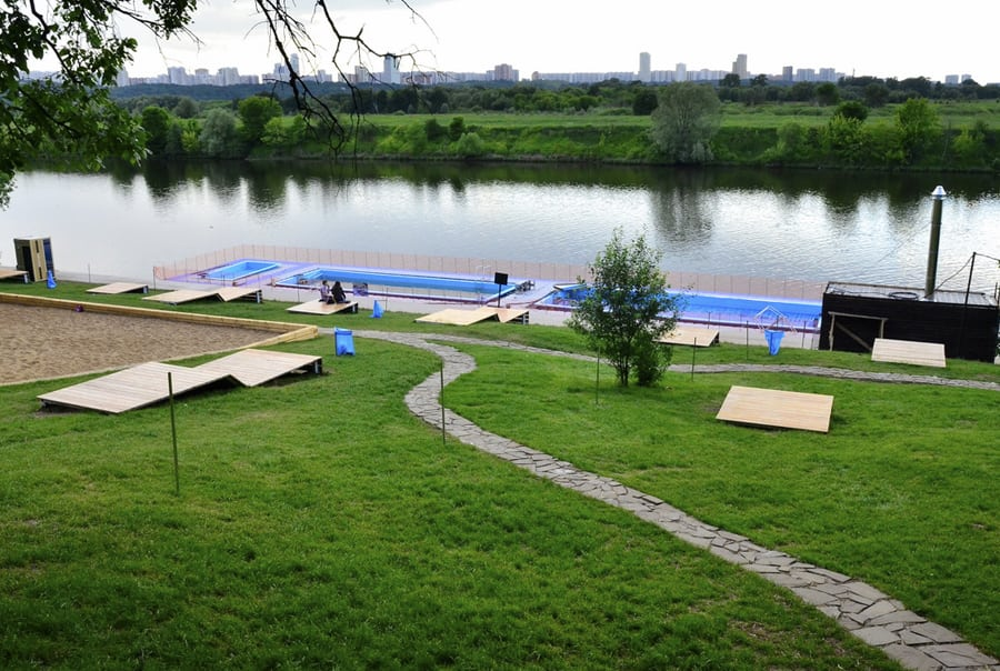 Филевский парк в Москве