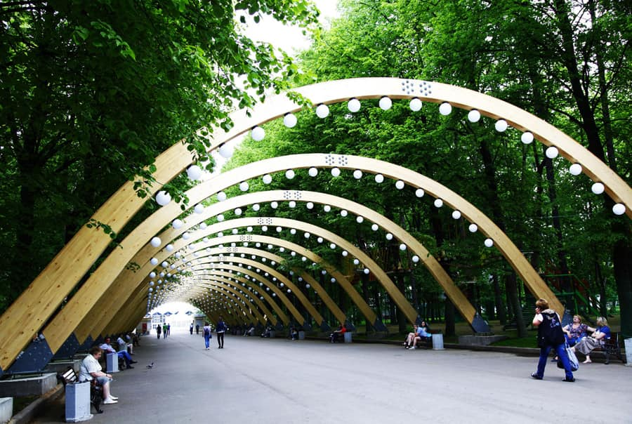 Парк в Сокольниках