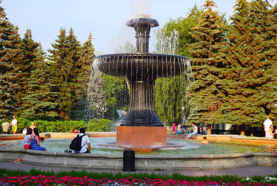 Парки в Екатеринбурге