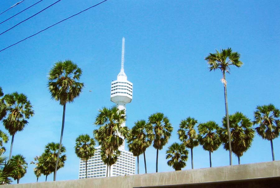 Башня Pattaya Tower фото