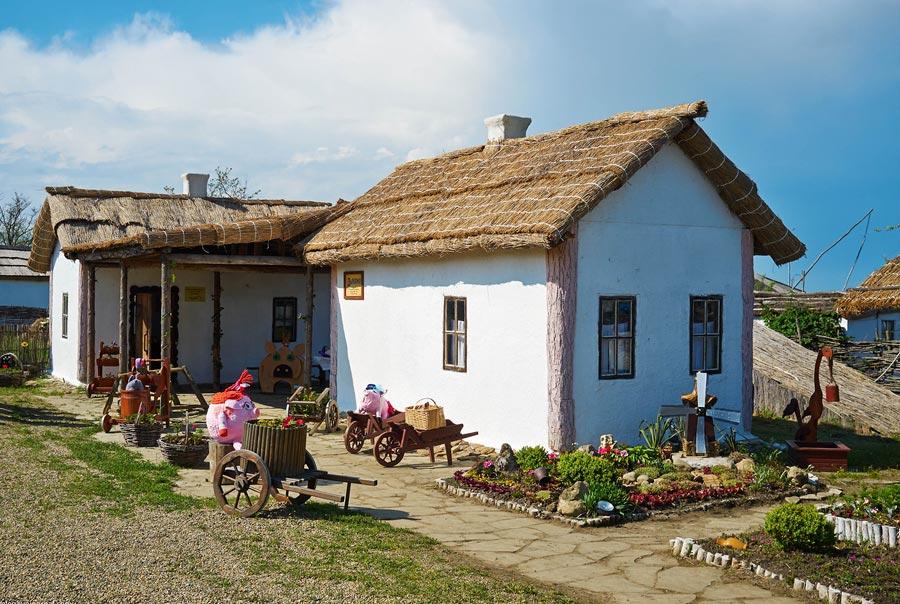 фото посёлка тамань