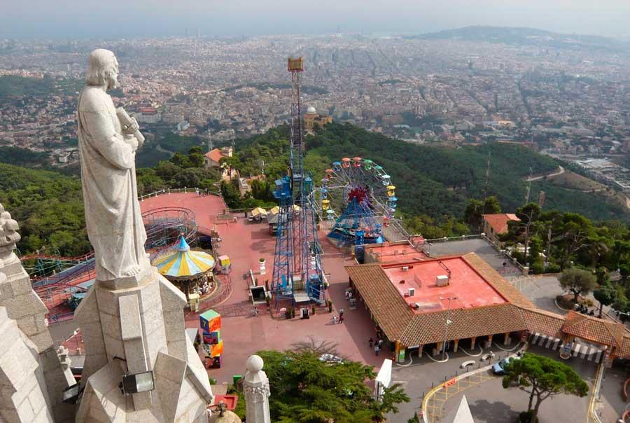 Парк Тибидабо фото