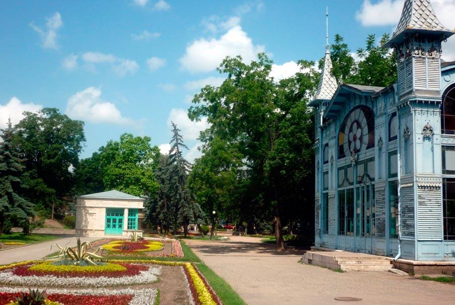 Городской парк «Цветник»