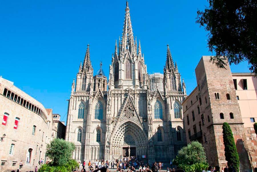 Барселонский собор фото