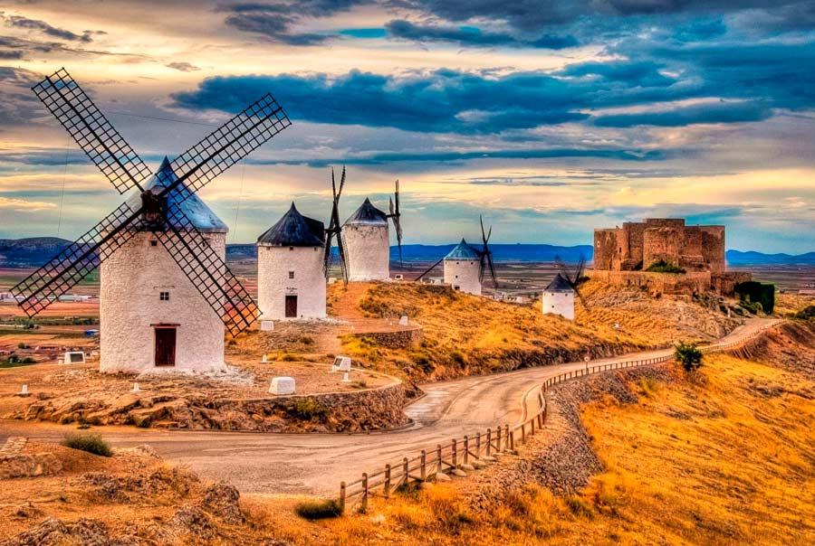 Ветряные мельницы Ламанча фото