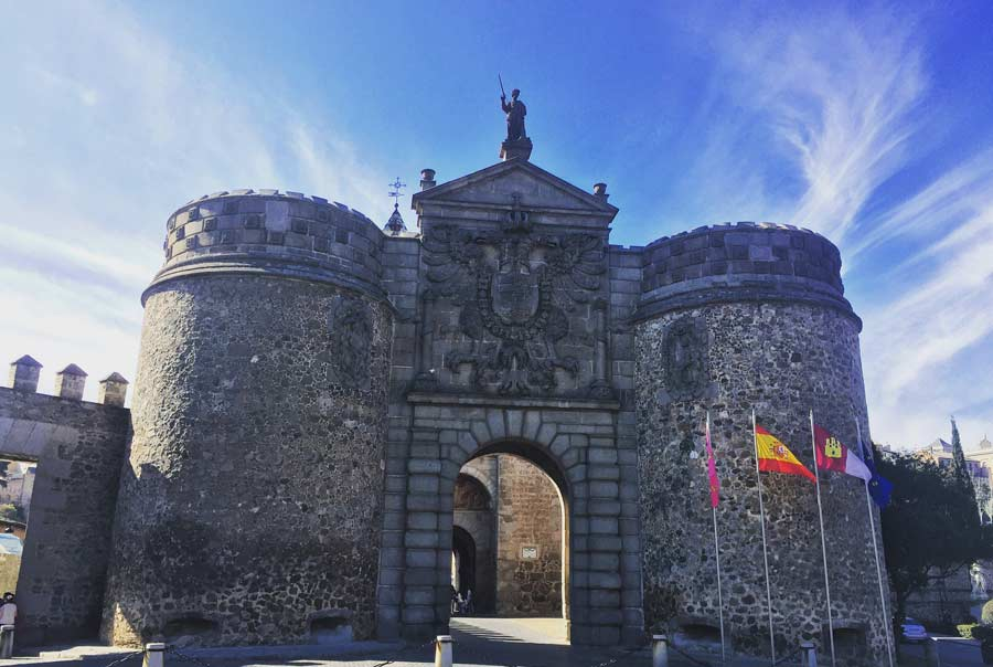 Ворота Бисагра фото