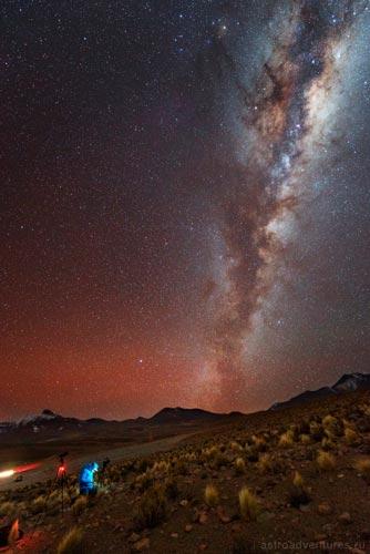 Небо в Чили