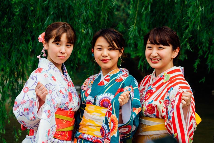 Девушки в Японии