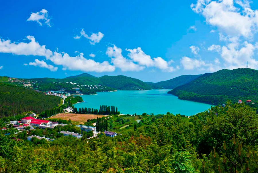 Озеро Абрау фото