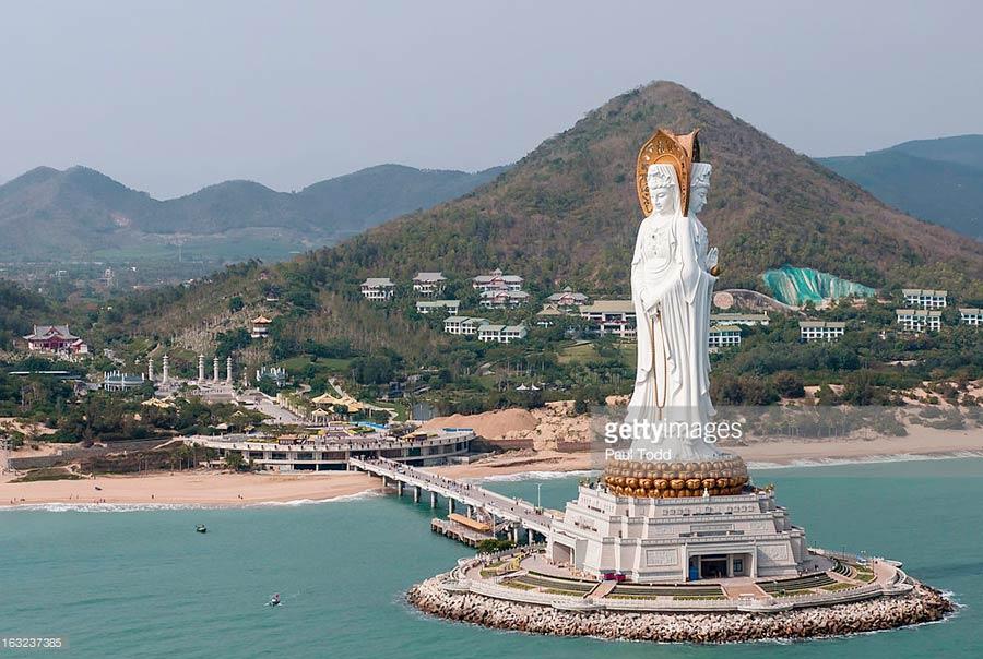 Храм Наньшань самостоятельно
