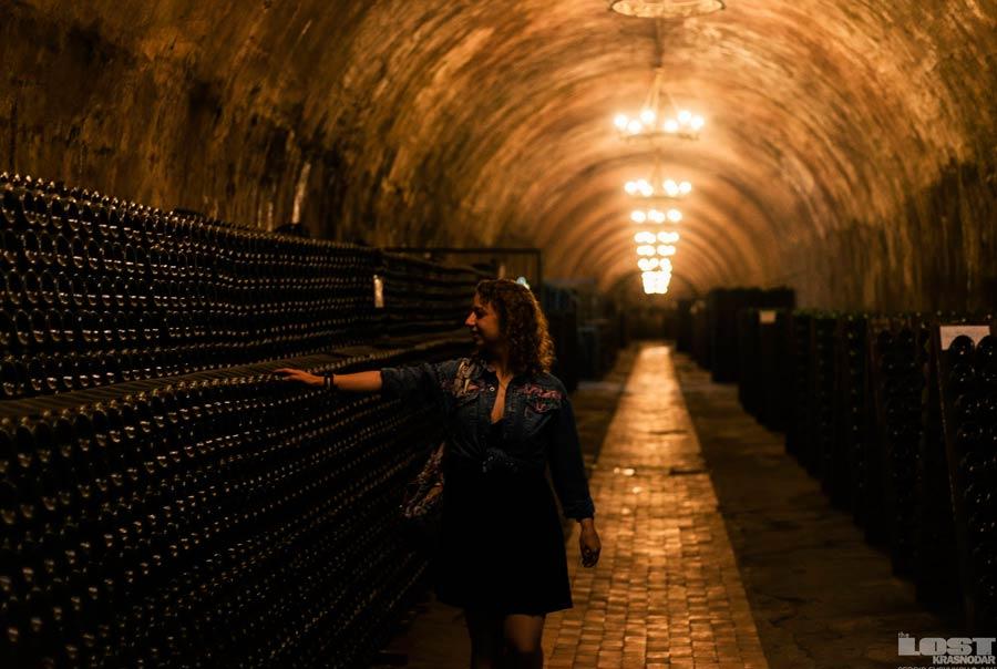 Завод шампанских вин фото