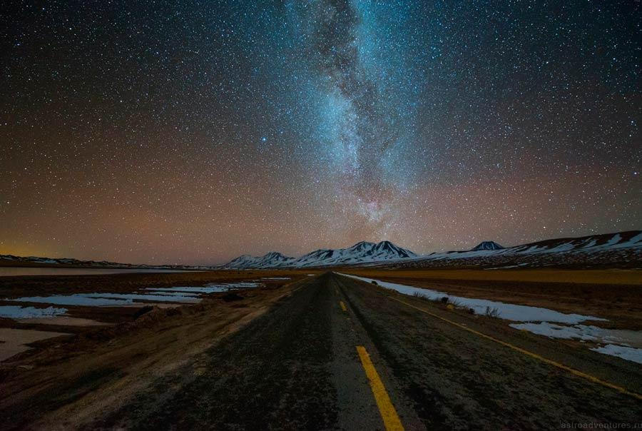 Звезды над дорогой