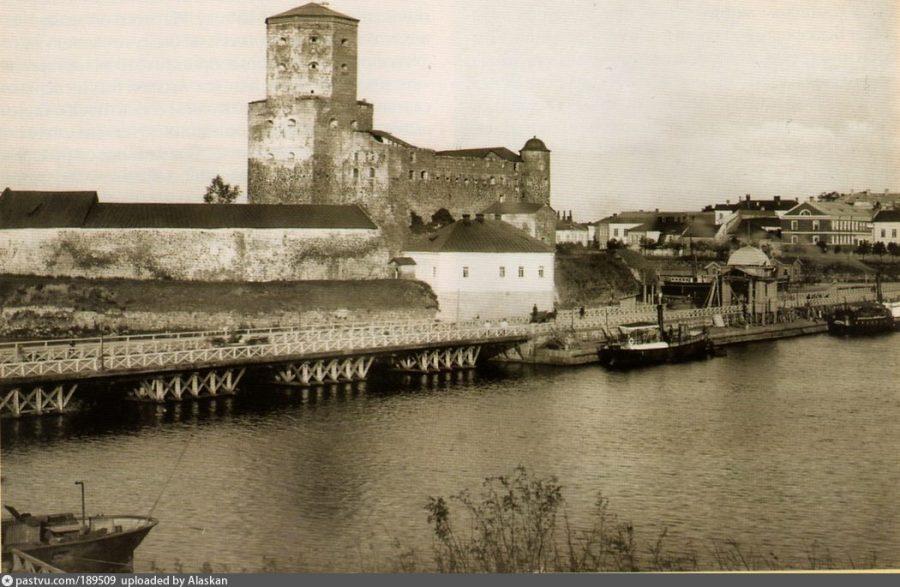 Замок в Выборге до реконструкции